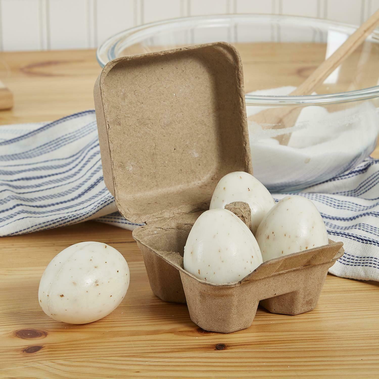 Egg soaps set