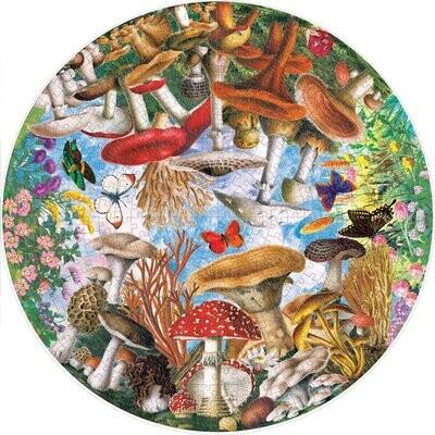 500 pc puzzle mushroom