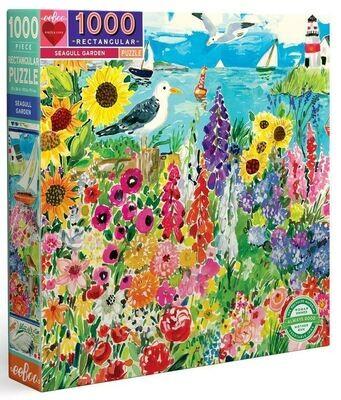 Eeboo 1000 Piece Puzzles - Seagull Garden