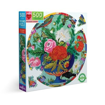 500 piece Puzzle Bouquet