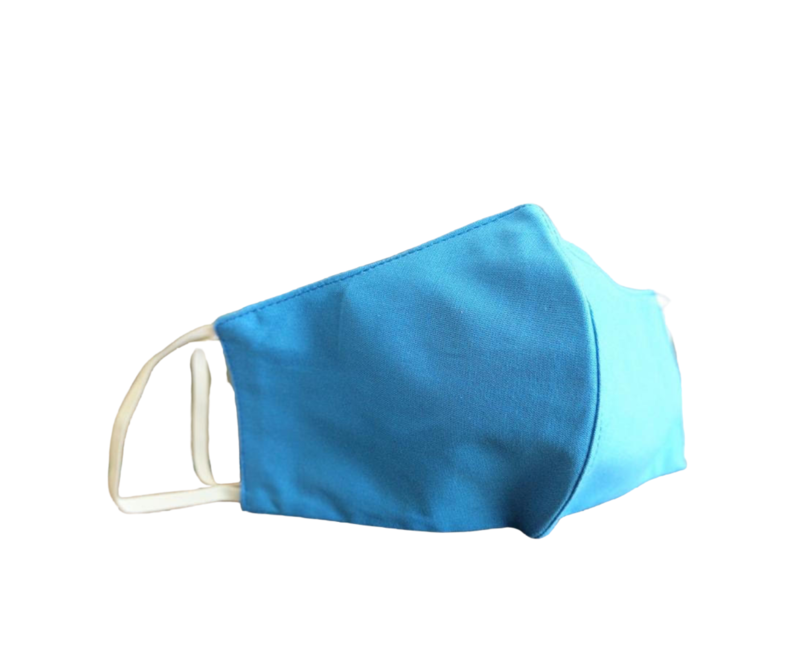 Male Cloth Mask - Center Fold Style