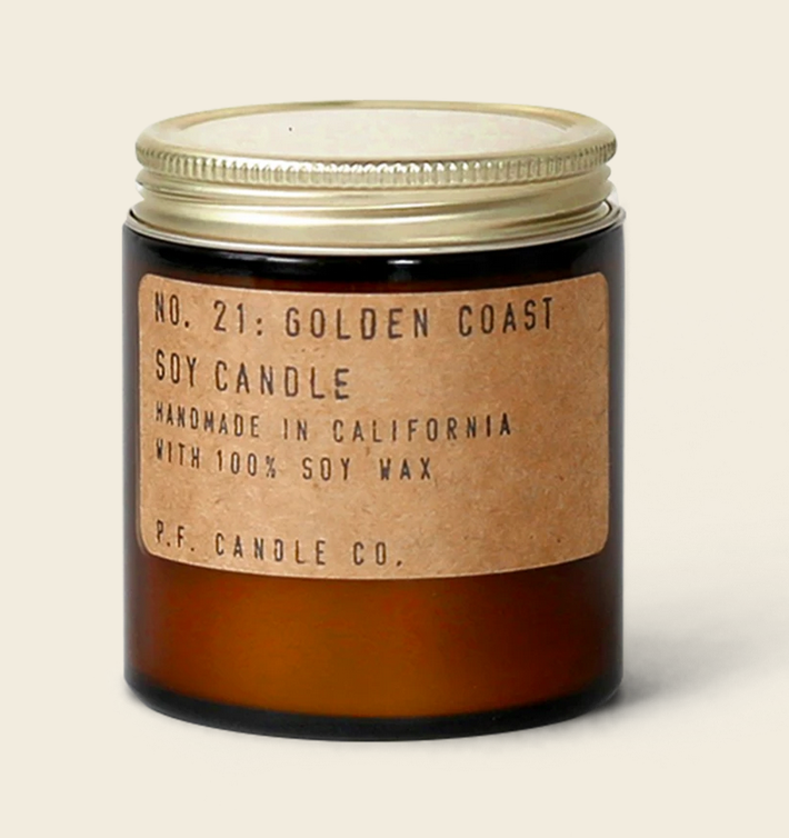 Golden Coast 3.5 oz. Soy Candle