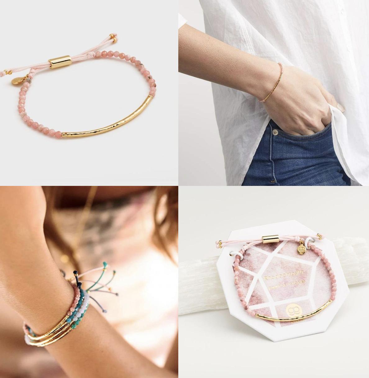 Power Gemstone Bracelet for Compassion