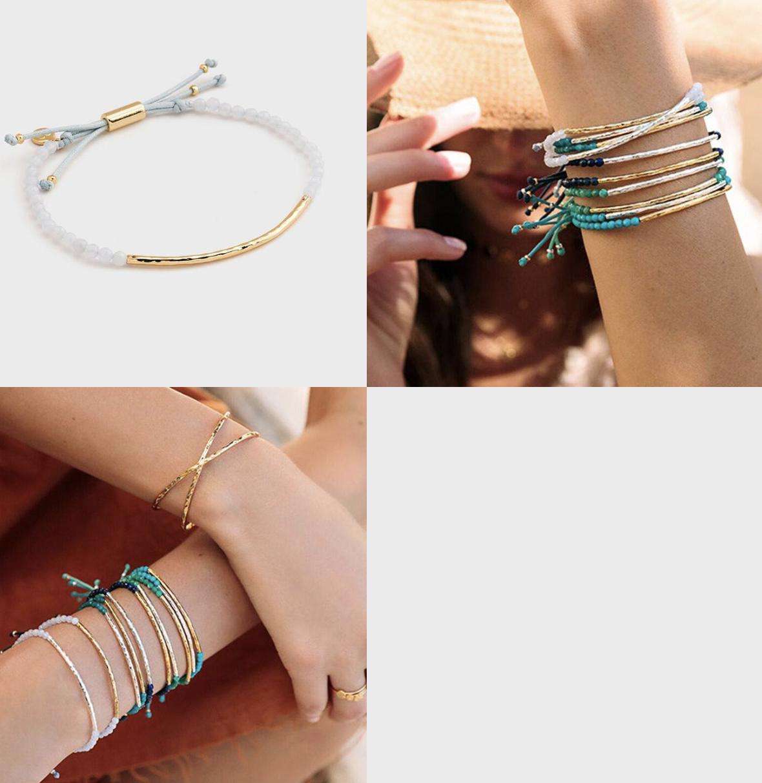 Power Gemstone Bracelet for Self-Expression