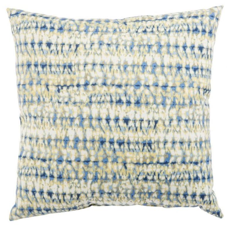 Veranda Cobalt Batik Pillow