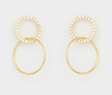 Balboa Interlocking Shimmer Studs