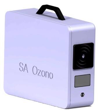 Generador ozono portátil