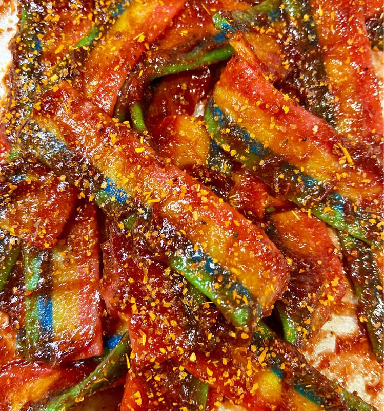 Rainbow Sour Belts Enchilados