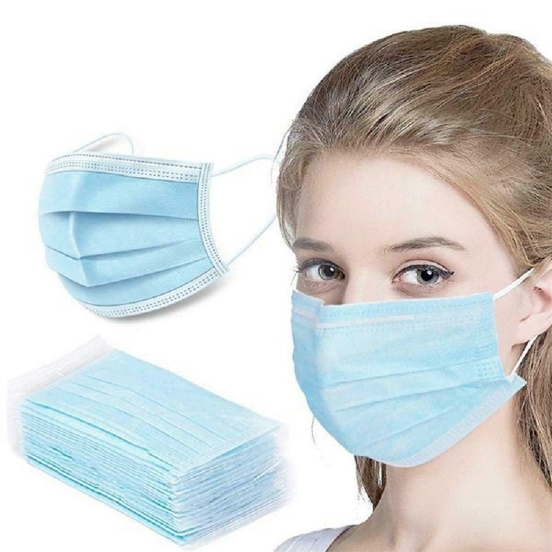 Disposable Face Masks 50 PCS