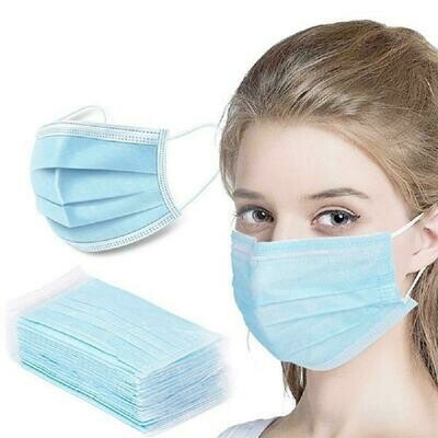 Disposable Face Masks 50 PCS