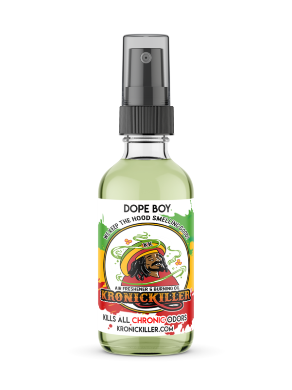 Dope Boy Air Freshener & Burning Oil