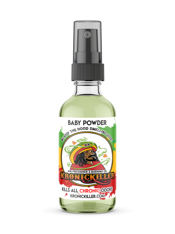 Baby Powder Air Freshener & Burning Oil