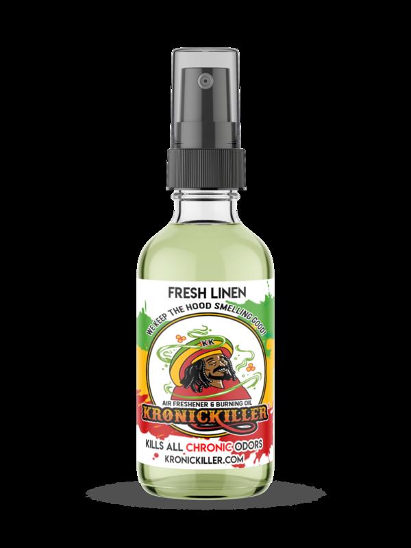 Fresh Linen Air Freshener & Burning Oil