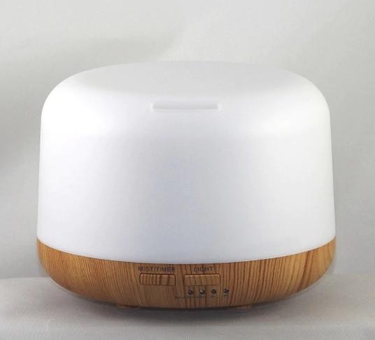 Ultrasonic Diffuser Light Wood Grain