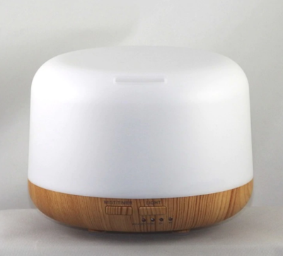 Ultrasonic Diffuser Light Wood Grain