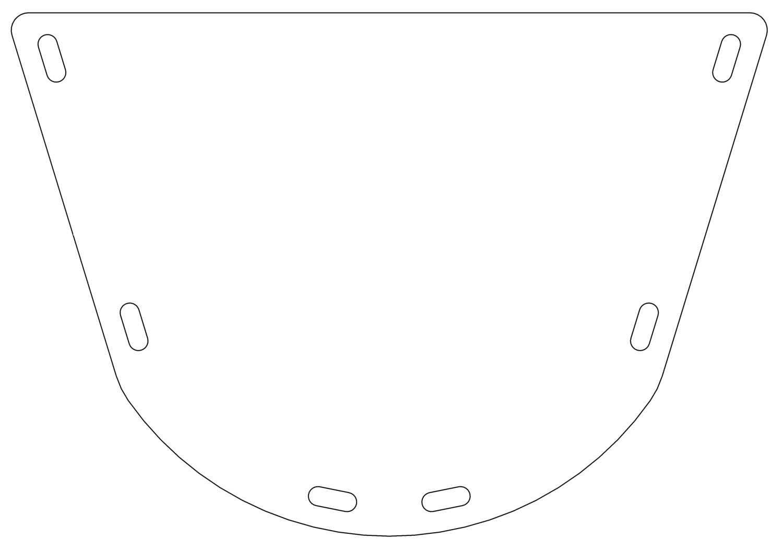 Lacrosse Helmet Face Shield