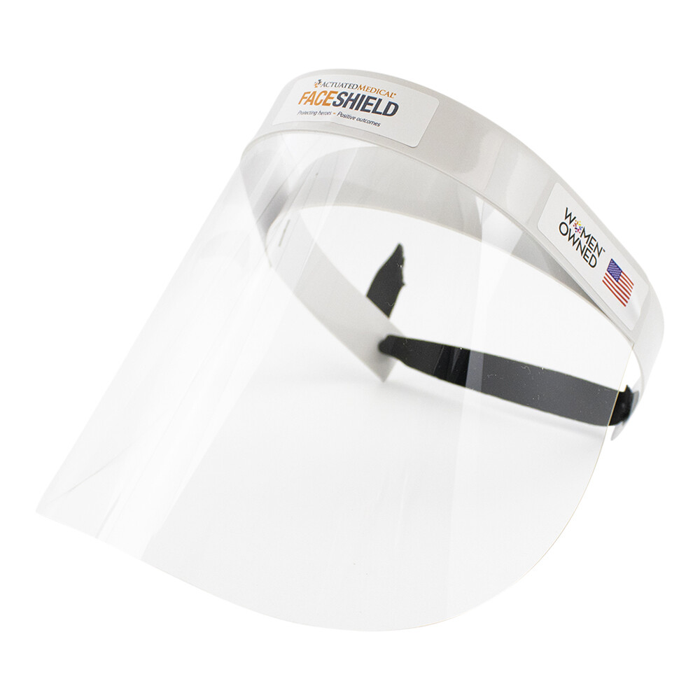Reusable Face Shield with reinforced headband, Size Small - Pack of 1