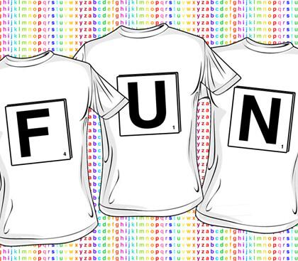 Alphabet T-Shirts (Starting at $775 for 104 Shirts)