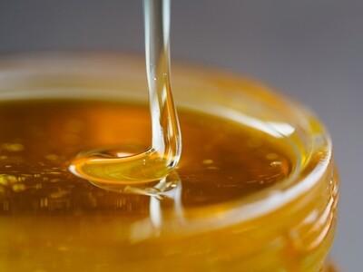 8 oz Wild, Raw Honey