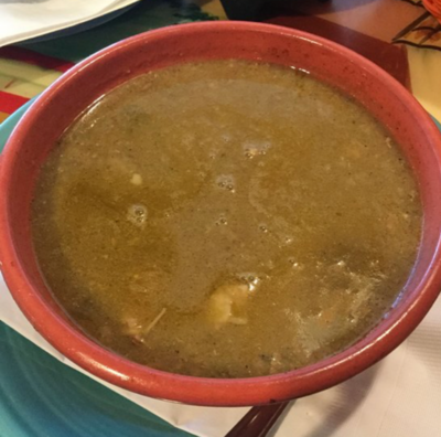 GREEN CHILE SOUP