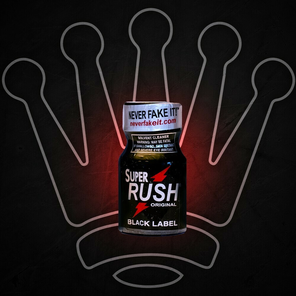 SUPER RUSH BLACK 10ML POPPER