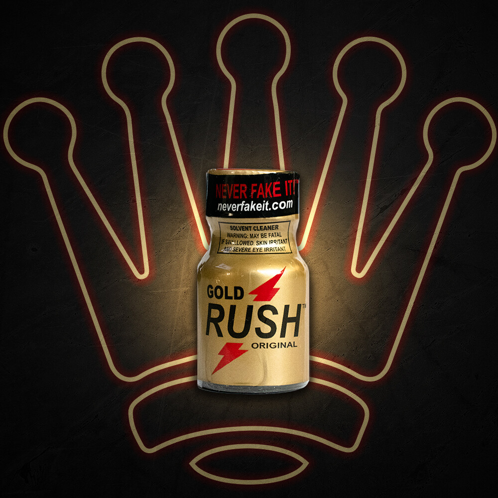 GOLD RUSH 10ML POPPER