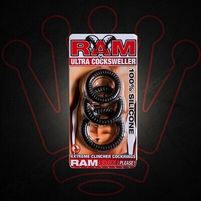 Ram Ultra Cocksweller - Black