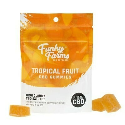 Funky Farms Gummies 5 pack (50mg)