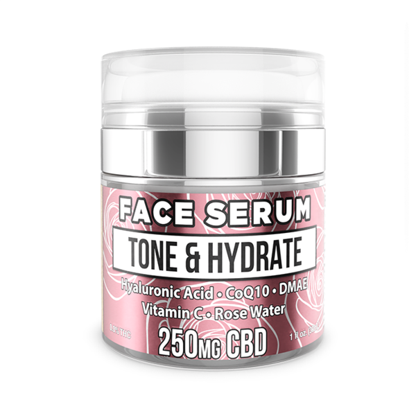 ERTH Hemp Face Serum - 250mg