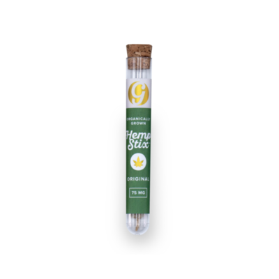 Gold Standard Hemp Stix Pre Roll - Original or Mint (75mg)