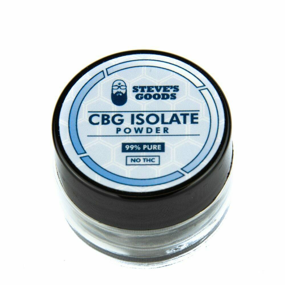 Steve's Goods CBG Isolate (1 Gram)