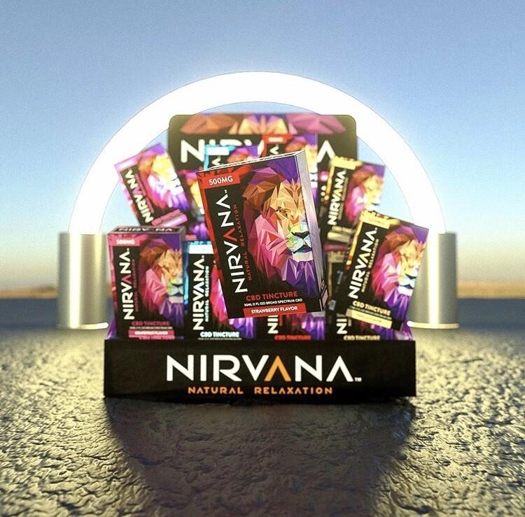 Nirvana Broad Spectrum Tinctures (500-1000mg)