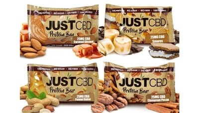 JustCBD Protein Bars