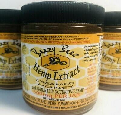 Beezy Beez Creamed Honey  (500mg)