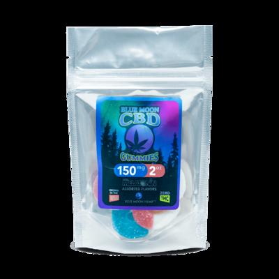 Blue Moon Hemp CBD Gummies w/ Melatonin -150mg