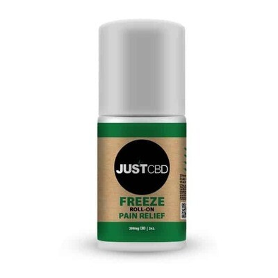 JustCBD FREEZE Pain Roll On - 200mg