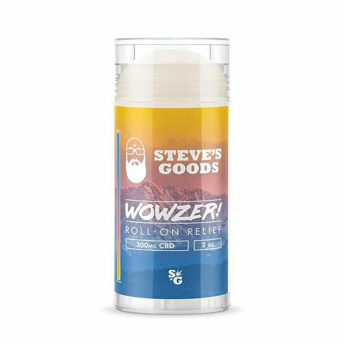Steve's Good's Wowzer CBD Roll On - 300mg