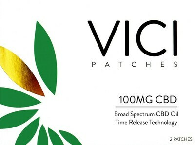 VICI – CBD Topical 2 Patches