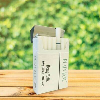 Plain Jane Hemp Cigarette - 20 pack