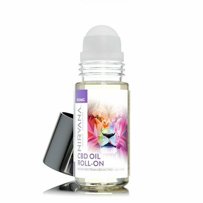 Nirvana Roll On Oil - 150mg/30ml