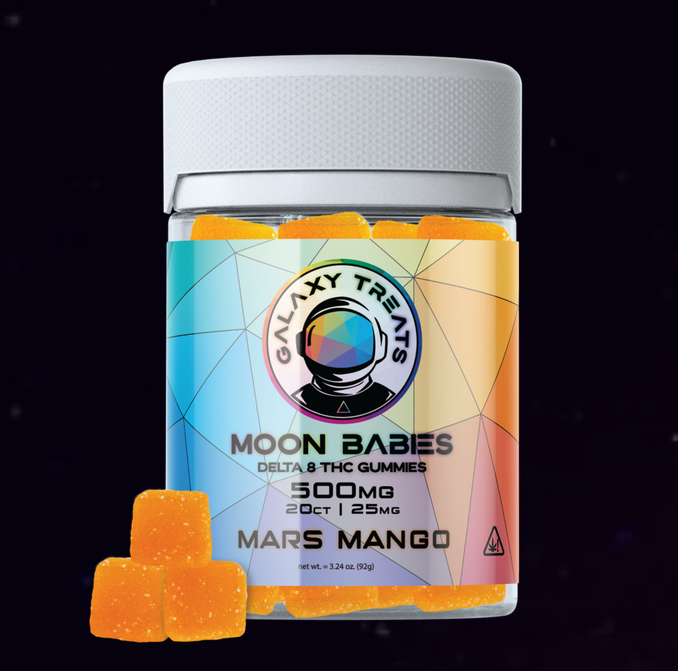 Galaxy Treats Delta 8 Gummies - Mars Mango
