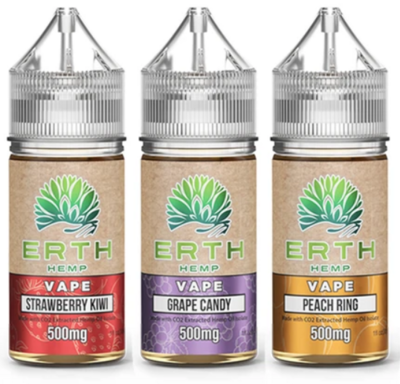 ERTH Hemp Vape Juice - 500mg