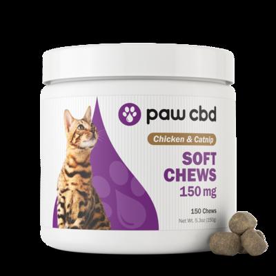 Paw CBD Cat Soft Chews - 150mg