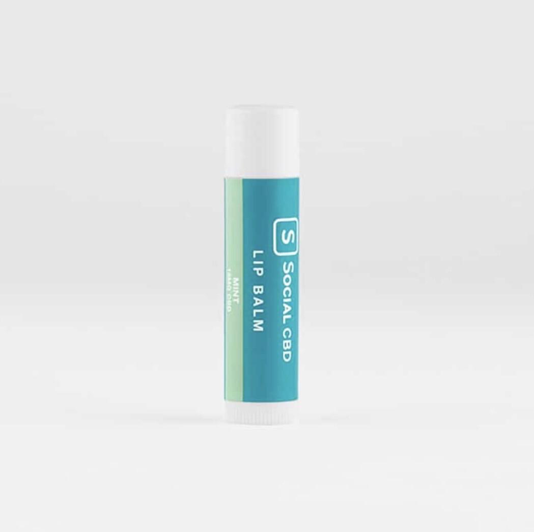 Social CBD Lip Balm - Mint 15mg