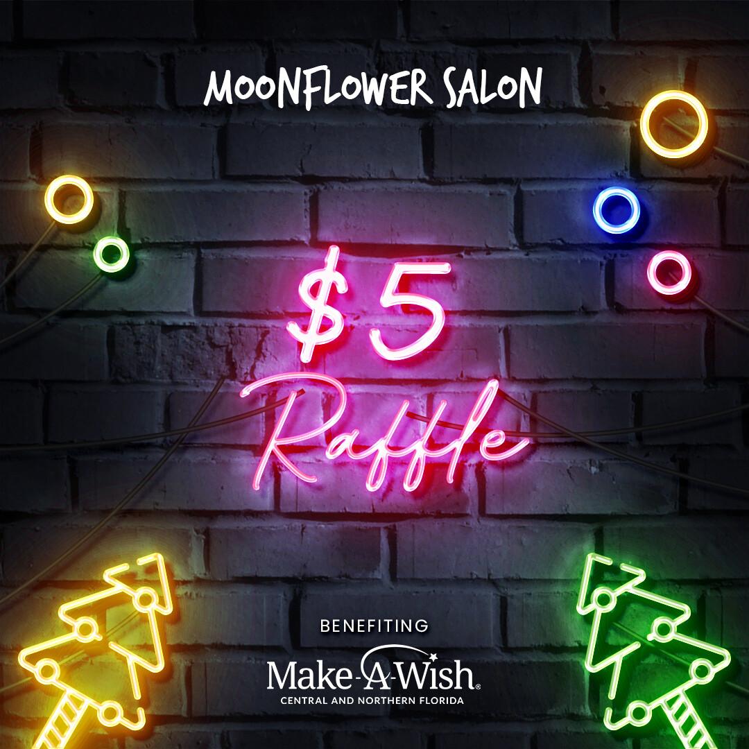 $5 MAKE-A-WISH CHRISTMAS RAFFLE
