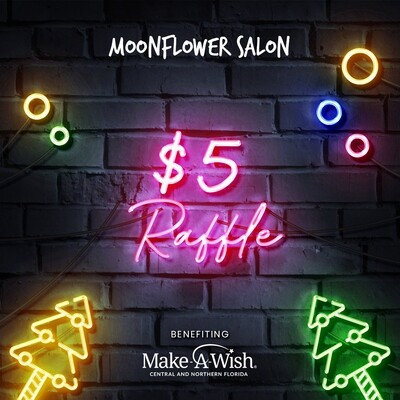 $5 MAKE-A-WISH CHRISTMAS RAFFLE