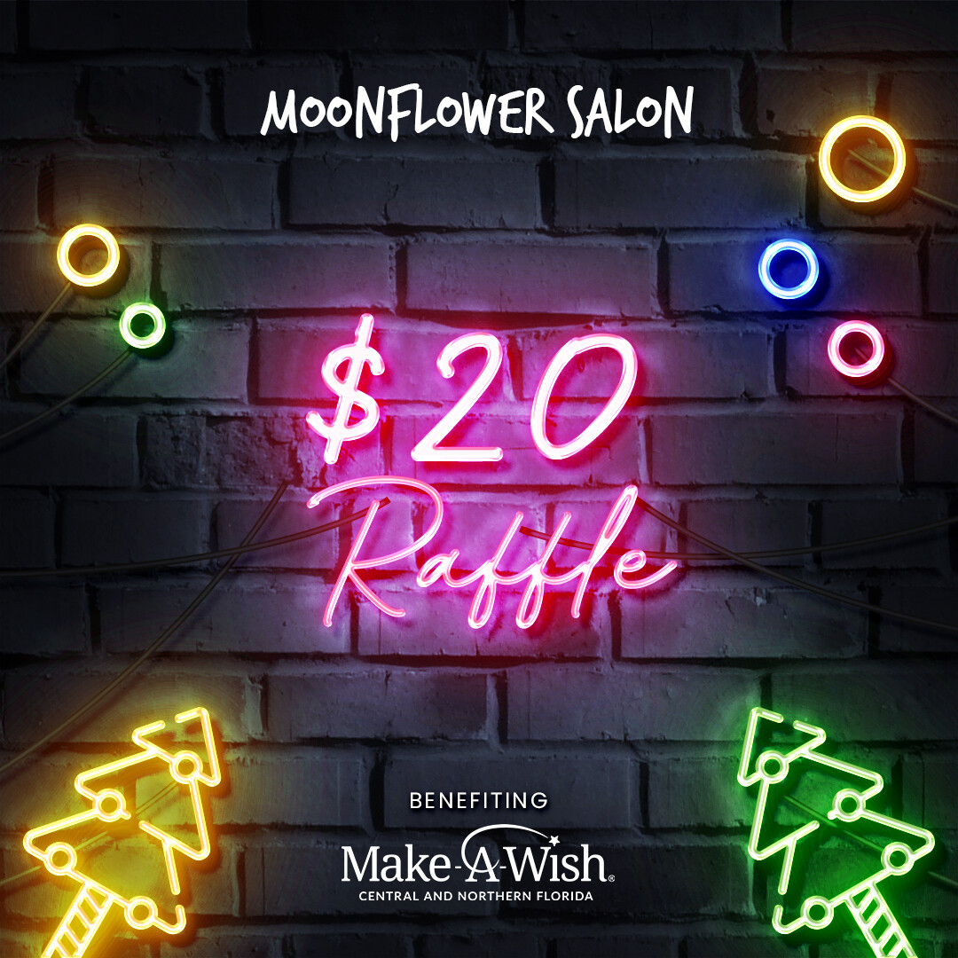 $20 MAKE-A-WISH CHRISTMAS RAFFLE