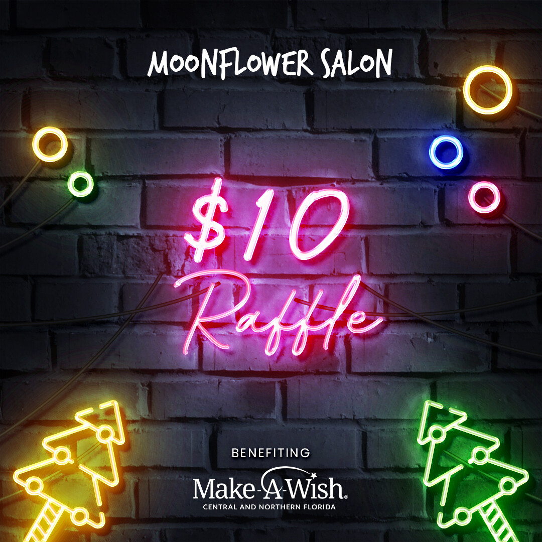 $10 MAKE-A-WISH CHRISTMAS RAFFLE