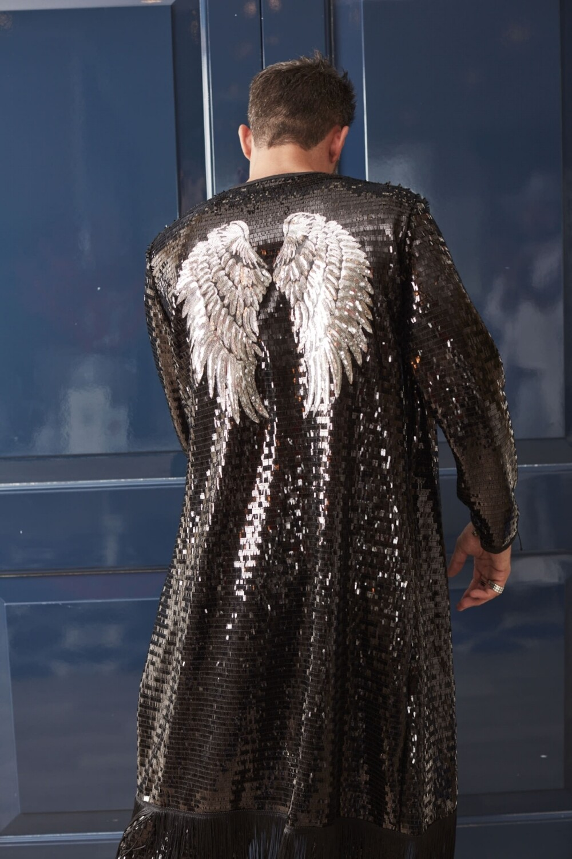 The Silver Winged Kimono