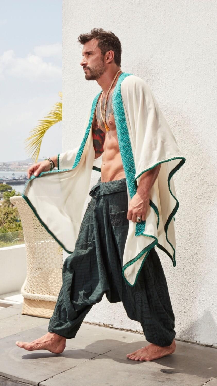 The Monarch - Linen Kimono